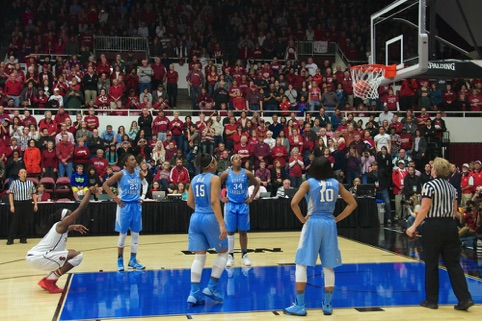 Chiney Ogwumike makes championship-winning free throw HM Photojournalism PACC 2014 Annual Competition