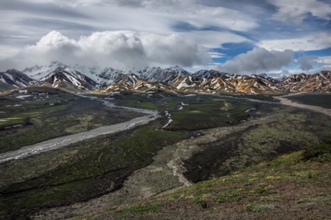 View at Polychrome Pass