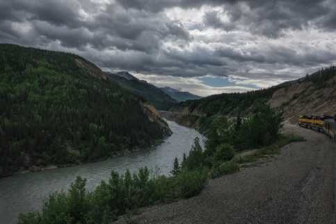 Nenana River Canyon