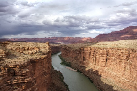Looking North from Navajo Bridge
